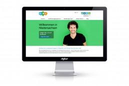 BNW Internetauftritt - Projekt Welcome